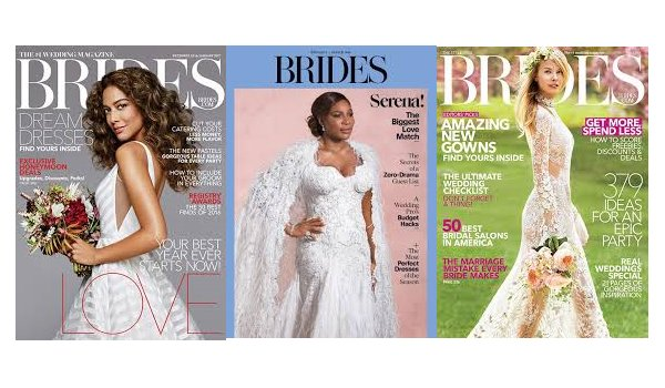 Photo Highlighting Brides Magazine