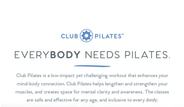 Club Pilates Moore